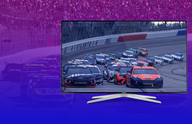 NASCAR TV Guide without cable